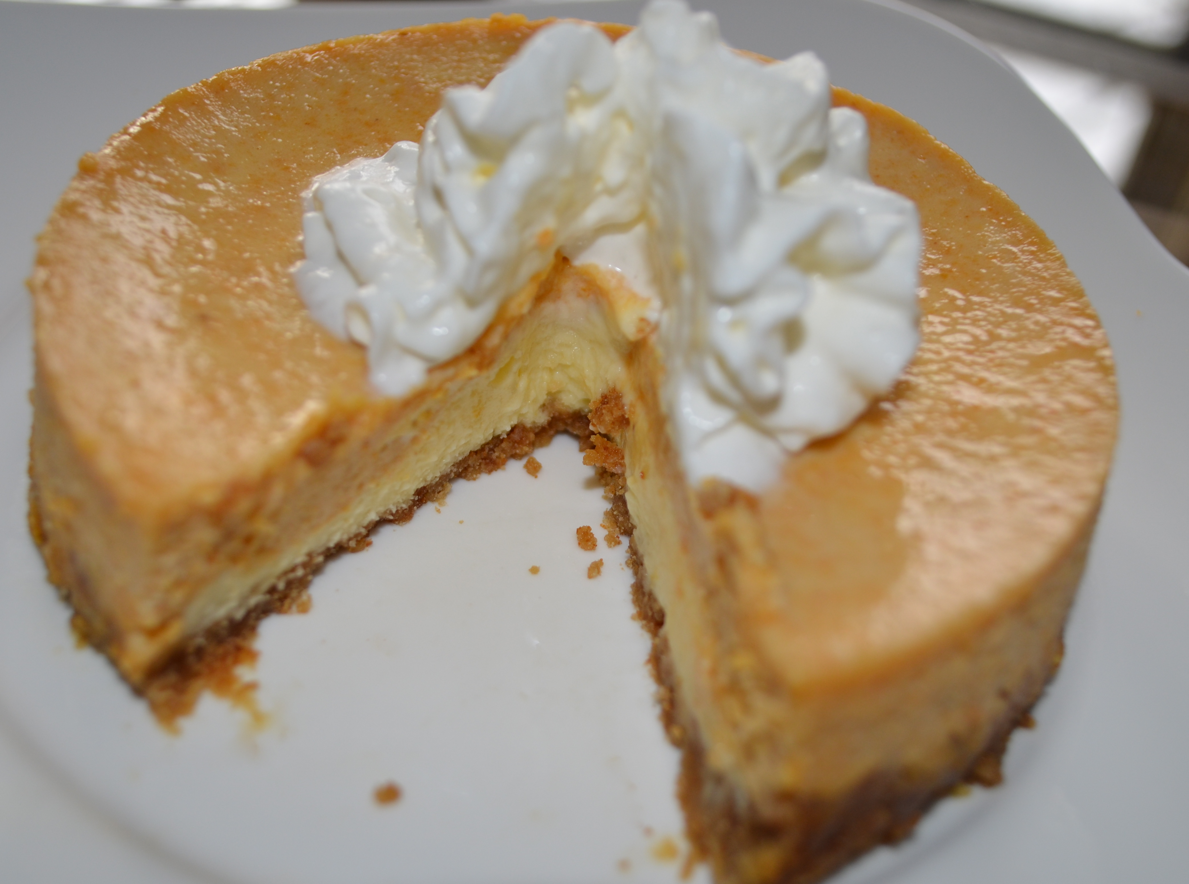 Gluten Free Pumpkin Cheesecake
