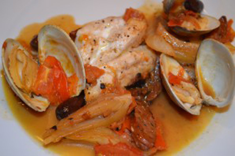 striped-bass-clams
