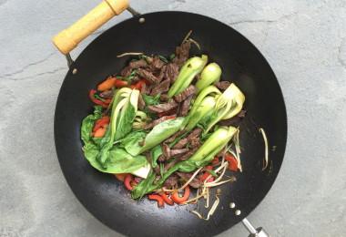 Celiac-friendly Asian beef stir-fry