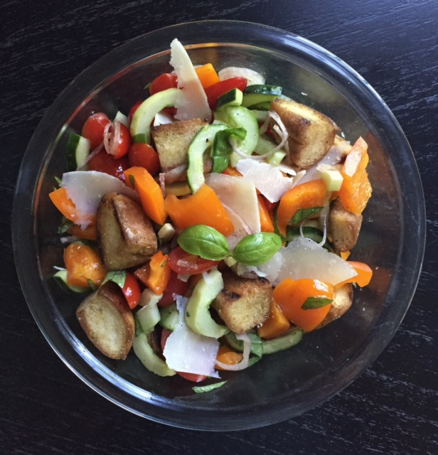 Gluten-Free Panzanella Salad