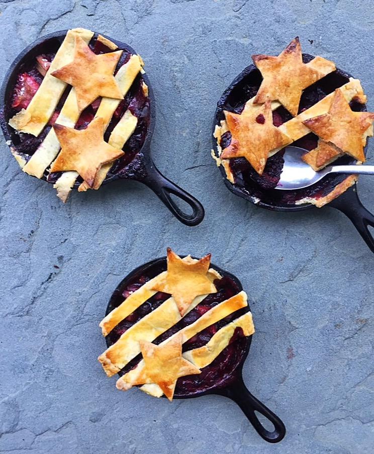 Gluten-Free Skillet Pie